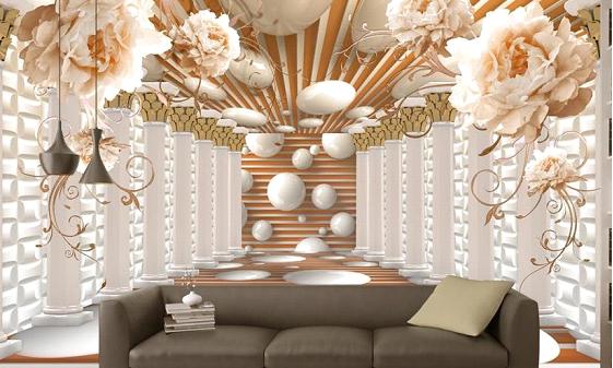 ورق الجدران المجسم 3D